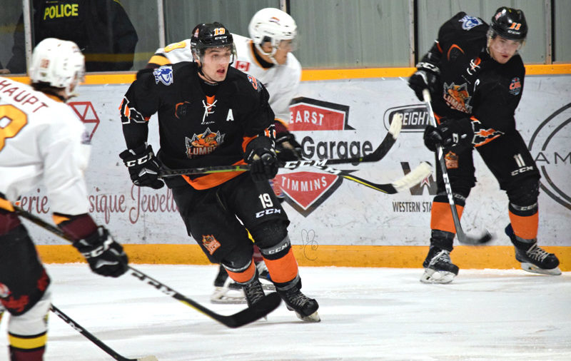 Golant tallies twice late to help Hearst top Timmins
